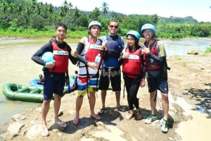 White water rafting w/ team WHAT! and our lead Howard
