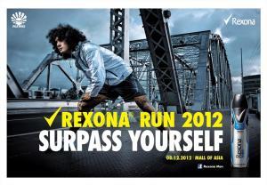 Rexona Run 2012